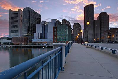 Photograph - Summer Street Bridge by Juergen Roth