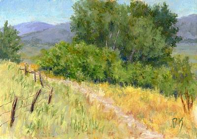 Painting - Summer Stroll by David King