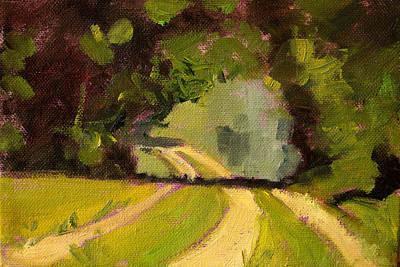 Painting - Summer Stroll by Nancy Merkle