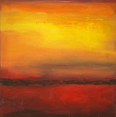 Summer Sun Art Print by Ora Birenbaum