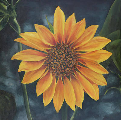 Painting - Summer Sunflower by Elise Procter