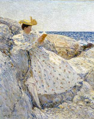 Old Books Painting - Summer Sunlight by Childe Hassam