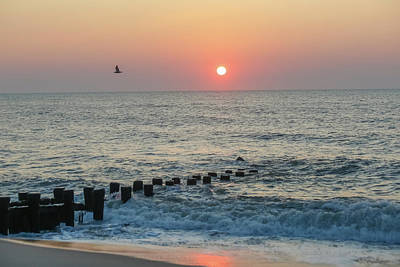 Photograph - Summer Sunrise At The Beach by Kathleen McGinley