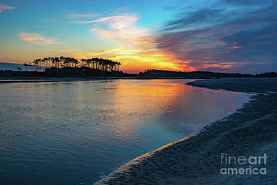Photograph - Summer Sunrise At The Inlet by David Smith