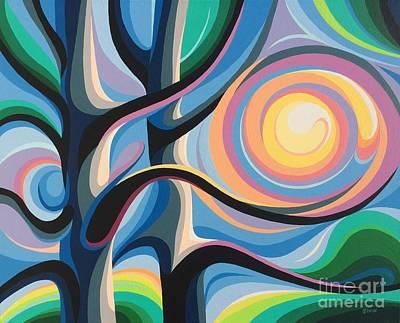 Painting - Summer Sunrise by Christine Karron