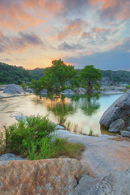 Personalized Name License Plates - Summer Sunrise in the Texas Hill Country 83 by Rob Greebon