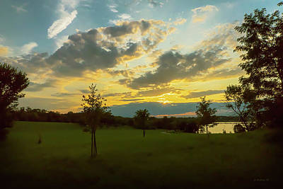 Photograph - Summer Sunset by Brian Wallace