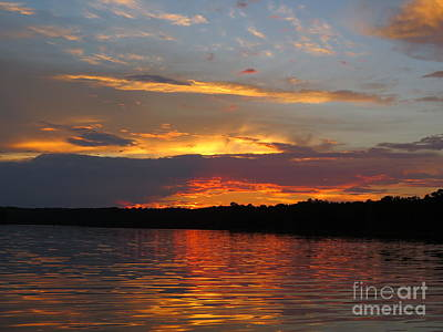 Bama Photograph - Summer Sunset by Charles Green