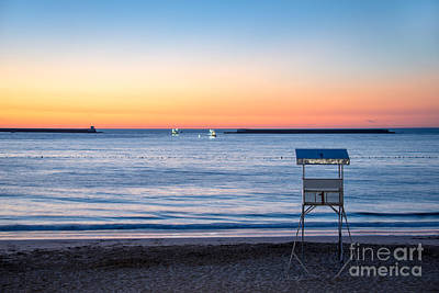 Summer Sunset Art Print by Delphimages Photo Creations