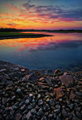 Photograph - Summer Sunset In Rye by Robert Clifford