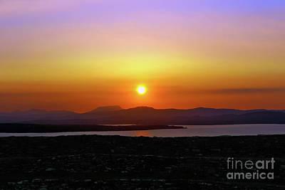 Photograph - Summer Sunset by Nina Ficur Feenan