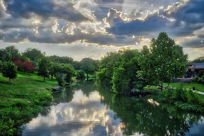 Photograph - Summer Sunset On Cibolo Creek by Lynn Bauer