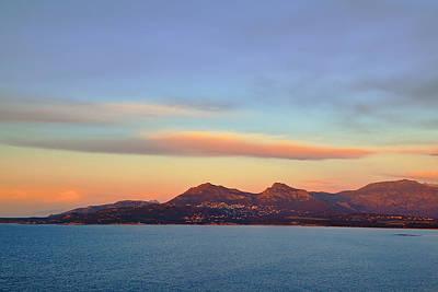 Summer Sunset On The Sea Art Print