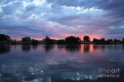 Photograph - Summer Sunset On Yakima River 4 by Carol Groenen