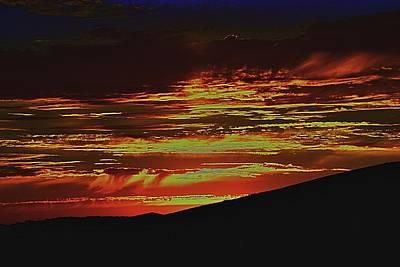 Photograph - Summer Sunset Rain by Michael Courtney
