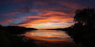 Photograph - Summer Sunset by Ron McGinnis