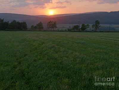 Photograph - Summer Sunset - Strathspey by Phil Banks