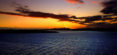Photograph - Summer Sunsets In Sydney by Miroslava Jurcik
