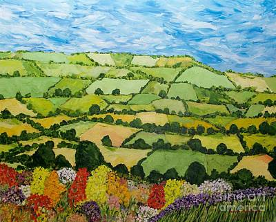 Painting - Summer Sunshine by Allan P Friedlander