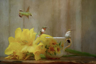 Painting - Summer Tea Party by Jai Johnson