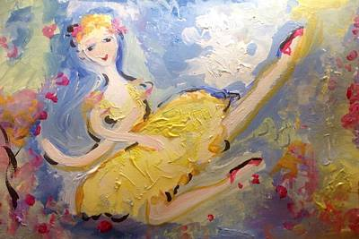 Painting - Summer The Ballerina by Judith Desrosiers
