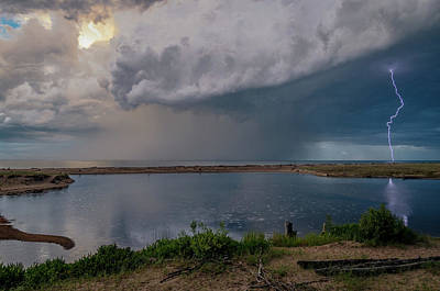 Photograph - Summer Thunderstorm by Gary McCormick