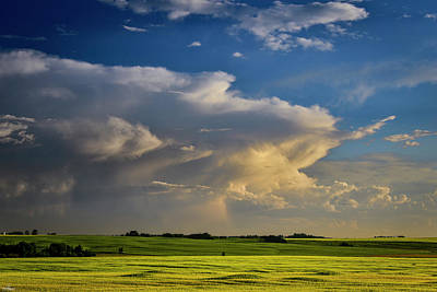 Photograph - Summer Thunderstorm by Philip Rispin