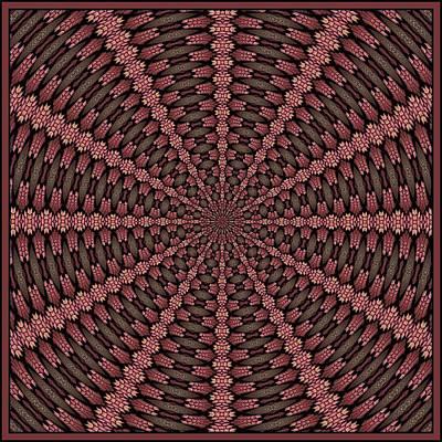 Digital Art - Summer Tile K12-201-08062016 by Doug Morgan