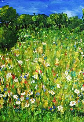 Painting - The Glade by Evelina Popilian