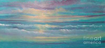 Painting - Summer Time by Holly Martinson