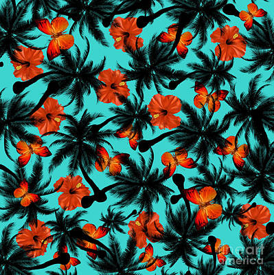 Leaves Digital Art - Summer Time  by Mark Ashkenazi