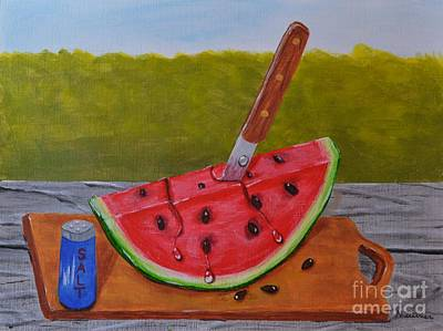 Painting - Summer Treat by Melvin Turner