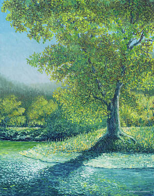 Painting - Summer Tree by Douglas Castleman