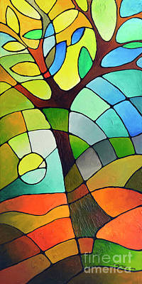 Painting - Summer Tree by Sally Trace