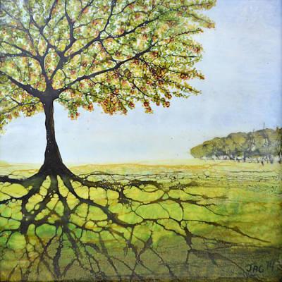 Summer Trees Original