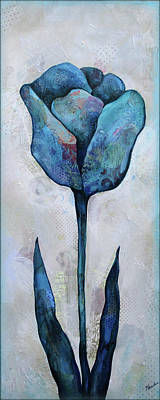Paintings - Summer Tulip I by Shadia Derbyshire