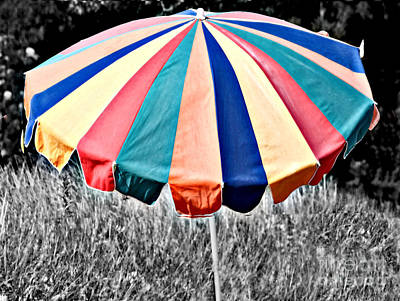 Photograph - Summer Umbrella by Raymond Earley