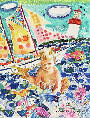 Painting - Summer Vacation #2 by Deborah Burow