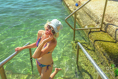 Photograph - Summer Vacation Greece by Benny Marty