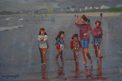 Painting - Summer Vacation by Len Stomski