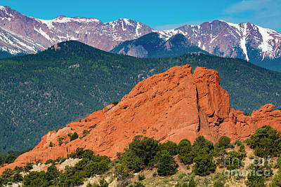 Photograph - Summer View Of The Gods by Steve Krull