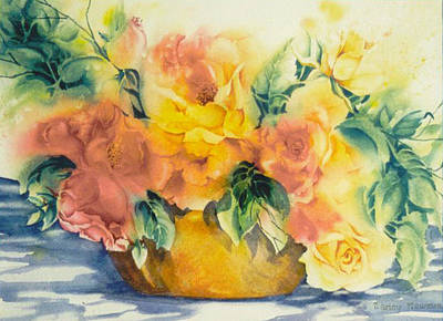Summer-warmth Art Print by Nancy Newman