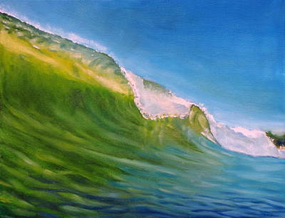 Painting - Summer Waves by Olivier Longuet