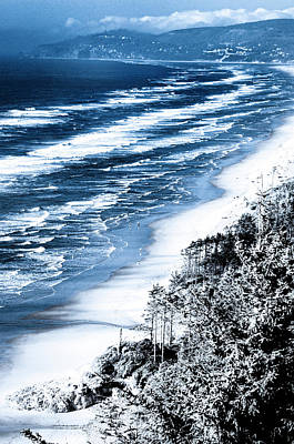 Photograph - Summer Waves Cape Lookout Oregon Coast by Amyn Nasser