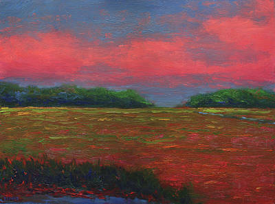 Painting - Summer Wetlands - Outlet by Vernon Reinike