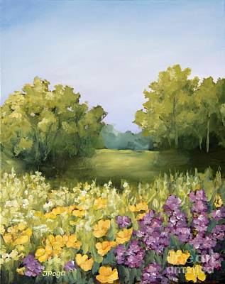 Painting - Summer Wild Flowers by Inese Poga