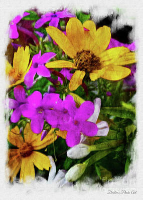 Photograph - Summer Wildflower Boque 3 by Debbie Portwood