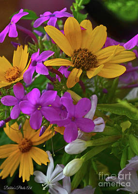 Photograph - Summer Wildflower Boquet 1 by Debbie Portwood