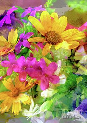 Photograph - Summer Wildflower Boquet 2 by Debbie Portwood