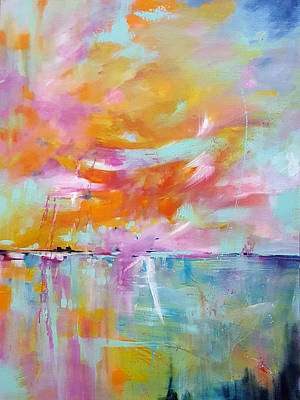 Painting - Summer Wind by Sue Dion
